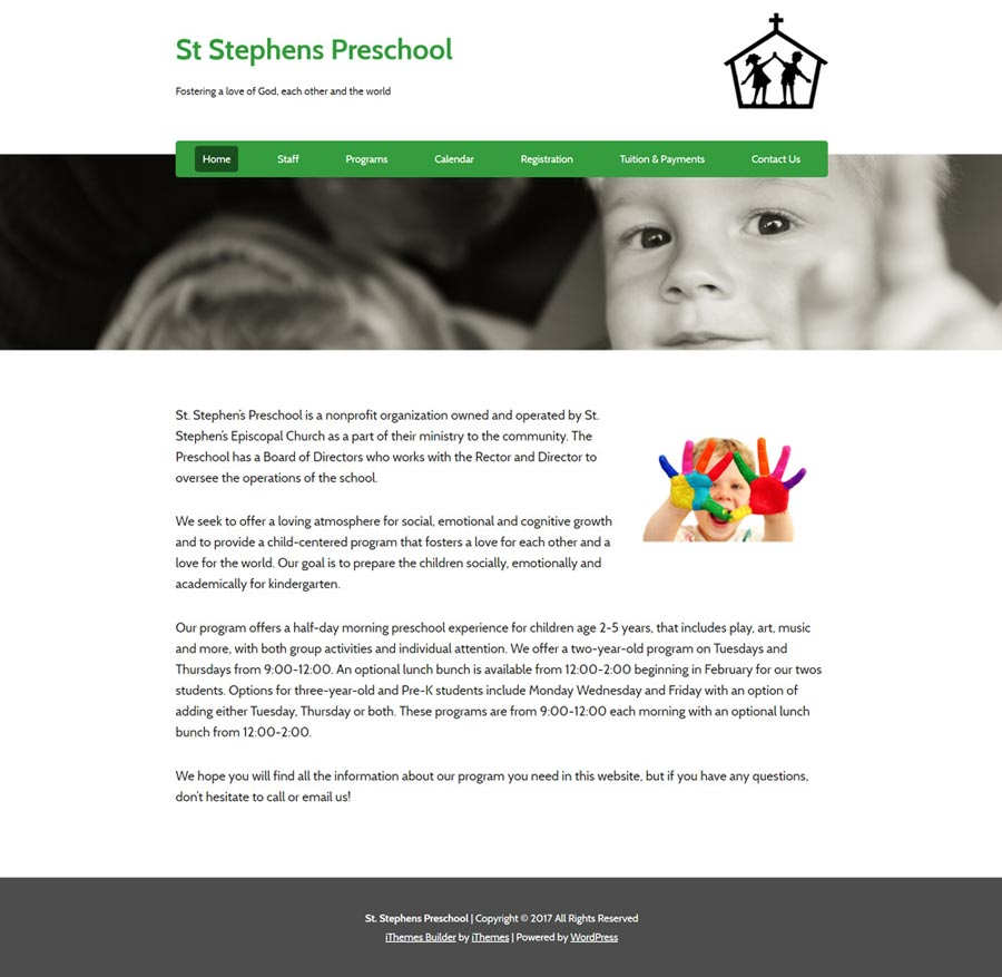 St. Stephen Preschool Screenshot